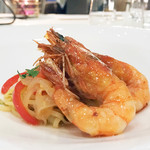 Cuisine Est - 天使海老の自家製タリオリーニ