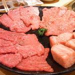 焼肉問屋 牛蔵 - セットのお肉 塩