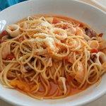 レストランかぐら - トマトクリームのパスタ