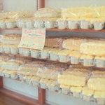 まかいの牧場 パン工房 - 大量に並ぶ「スターブレッド」