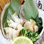 寿司ろばた 八條 - 【1月限定】青森県産『活黒ホッキ貝』◆活黒ホッキ貝のお刺身