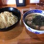 78620359 - 牡蠣と煮昆布の塩つけ麺