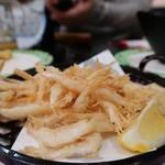 金沢まいもん寿司 - 白エビ唐揚げ
