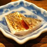 日本橋 蕎ノ字 - 駿河湾焼津の太刀魚の刺身