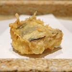 日本橋 蕎ノ字 - 太刀魚の天ぷら