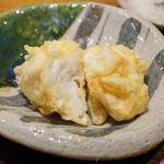 日本橋 蕎ノ字 - 白子 おろしポン酢で