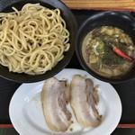 福は内 - カレーつけ麺 中 300g 半肉増し