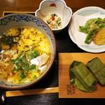 柿の葉ずし 平宗 奈良店 - 素麺定食