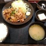 大衆食堂 御膳屋 - 【2017.12.28(木)】生姜焼き御膳950円