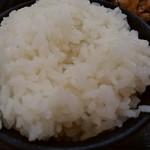 大衆食堂 御膳屋 - 【2017.12.28(木)】生姜焼き御膳950円のご飯