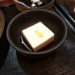 大衆食堂 御膳屋 - 【2017.12.28(木)】生姜焼き御膳950円の冷奴