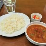 カレーキッチン パンドラ - 料理写真:チキンカレー激辛