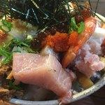 78623547 - 上バラ海鮮丼(アップ)