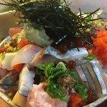 78623554 - 上バラ海鮮丼(アップ)
