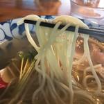 麺処 清水 - 鯛塩そば麺リフト