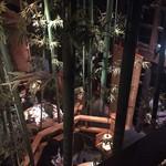 九州黒太鼓 - 2階から見て店内