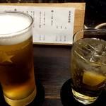 にし平 - 生ビール&ハイボール