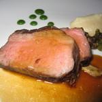 Azure Restaurant - アズーア・テイスティングメニュー(ランチャーズ牛リブアイ・ステーキ)
