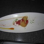 Azure Restaurant - アズーア・テイスティングメニュー(コナ・ケアホレ産ロブスターとブリオッシュ)