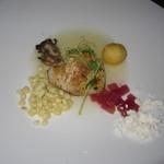 Azure Restaurant - アズーア・テイスティングメニュー(クリスピースキン・ピア38港からの魚)
