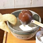 ボンヌ カフェ - ホットチョコレート/アールグレイ(税込650円)