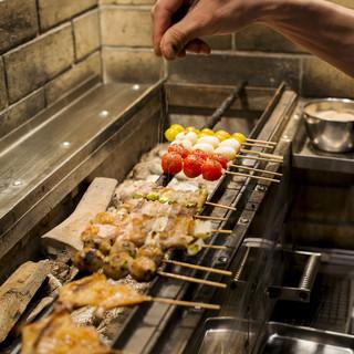 【塩】鰹や昆布からとったダシを使った自家製の塩を使用