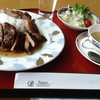 Top of KUSHIRO - 料理写真:スペシャルランチセット[ステーキプレート(コーヒー&ソフトクリーム付)](税込1,000円)