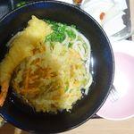 東京 肉芝 - 天ぷらうどん