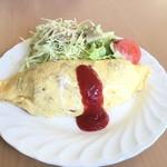 カフェレストランパセリ - 料理写真:オムライス  980円