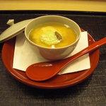 はな邑 - 湯葉豆腐に銀餡たっぷり。