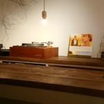 時計のない喫茶店 - レコードが流れていました