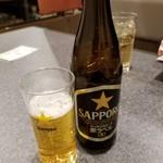鳥せい - ドリンク写真:瓶ビール 518円