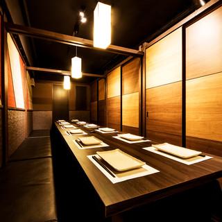 【町田宴会の新定番】大型個室も完備◇清潔感抜群の広々空間