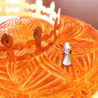 幸せを分かち合うお菓子「ラ・ガレット・デ・ロワ」