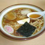 もりや食堂 - ラーメン 500円