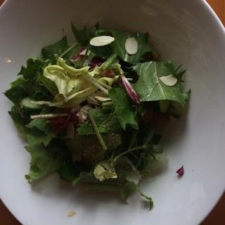 野草の料理何処にもないサラダ