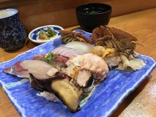 つね三 - つね三(大分県佐伯市内町)おまかせ寿司 1,800円