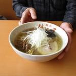 麺武 はちまき屋 - 塩ラーメン770円 全て同価格