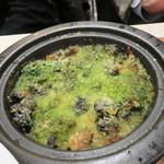 俺のフレンチ 博多 - エスカルゴのオーブン焼き ブルゴーニュ風。