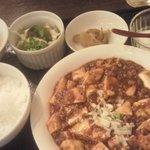 シーメンハン - 麻婆豆腐定食