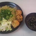 醍醐 - 焼きつけ麺&たこ焼き お得ランチ ¥500