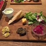 SEKAHE - ランチの前菜