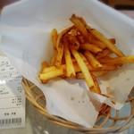 軽食ひまわり - 料理写真:フライドポテトは130円です