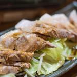 豚小家 - 2017.12 茹で豚(680円)