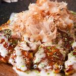 鉄板焼 曉 - 中はふわっふわ、豚バラはカリッと香ばしい関西風の絶品お好み焼き『豚玉』