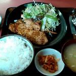 日本亭 - トンテキ定食