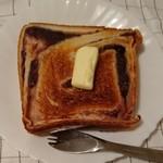 78659051 - トーストしたあん食パン