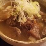 taishuubanikusakabafujiyama - 牛すじの煮込み480円