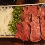 taishuubanikusakabafujiyama - 馬肉のたたき980円