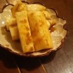 taishuubanikusakabafujiyama - 山芋のわさび漬け480円